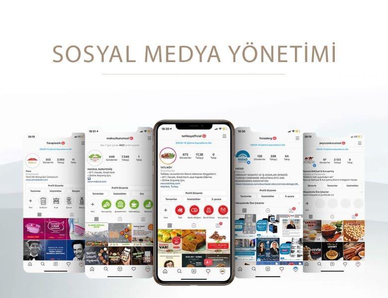 El İlanı, Sosyal Medya Marka Yönetimi ve Banner