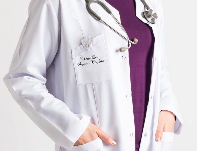 Şık Dayanıklı Hemşire ve Doktor Forması